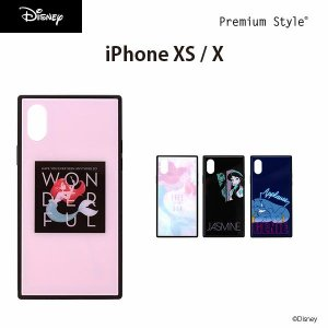 iPhone Xs/X用 ガラスハイブリッドケース|pg-a