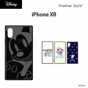 iPhone XR用 ガラスハイブリッドケース|pg-a