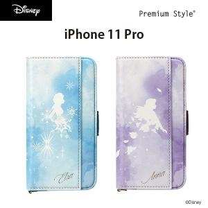 iPhone 11 Pro用 アナと雪の女王 ダブルフリップカバー|pg-a