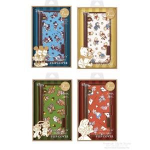 ディズニー iPhone8・iPhone7・iPhone6s・iPhone6 フリップカバー ナイロン|pg-a