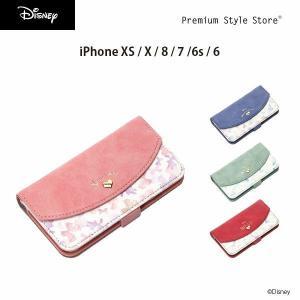 ディズニー iPhone X / iPhone8・iPhone7・iPhone6s・iPhone6 Disney ダブルフリップカバー【ディズニー 手帳 プリンセス】|pg-a