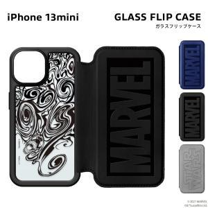 iPhone 13 mini用 ガラスフリップケース|pg-a