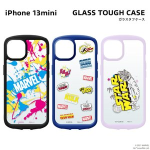 iPhone 13 mini用 ガラスタフケース pg-a