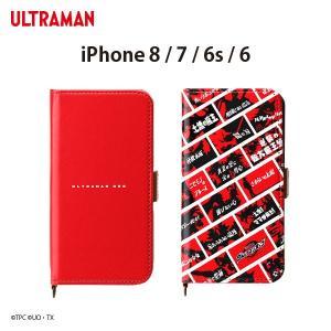円谷プロ ウルトラマンオーブ iPhone8/7/6s/6対応 フリップカバーウルトラマン ORB 石黒英雄  PG-ULT pg-a