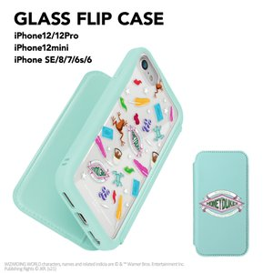 iPhone 12/12 Pro用 、iPhone 12 mini用 、iPhone SE(第2世代)/8/7/6s/6用ガラスフリップケース [ハリー・ポッター]|pg-a