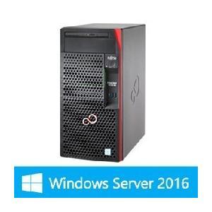 【WinSVR2016】富士通 PRIMERGY TX1310 M3 4GB 1TB SATAx2モデル(Pentium G4560/タワー)
