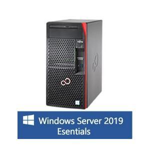 【WinSVR2019Esse】富士通 PRIMERGY TX1310 M3 8GB 500GB SATAx2モデル(Xeon E3-1225v6/タワー)