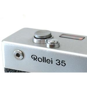 ローライ35用ソフトシャッターリリースボタン(クローム) rollei 35 ローライ35sなどに使用可