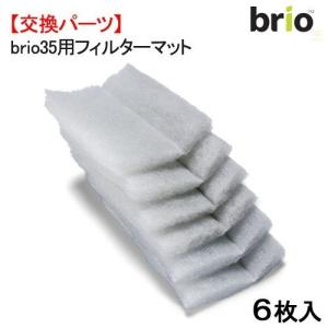 brio35(ブリオ)専用交換用フィルターマット6枚入(BRIO35-F)|pgmechanism