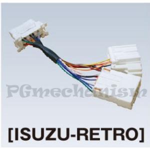 ISUZU-RETORO いすゞ用3P/10P/20P レトロアダプター ツールプラネット TPM-5対応 pgmechanism