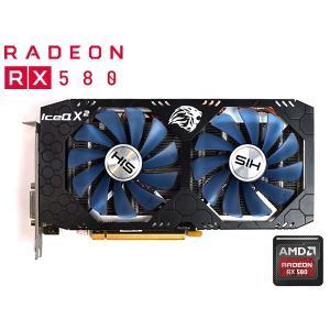 RADEON RX580のビデオカードになります。 リファビッシュ品ですので、とても綺麗で問題なく動...