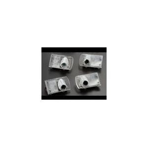 GARAX  ウェルカムライト付き リアルームランプ 4個セット【アルファード、ヴェルファイア 20系】連動配線付