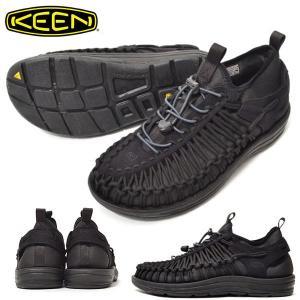 アウトドア スニーカー KEEN キーン メンズ UNEEK HT ユニーク HT スリッポン 1018025 黒 クライミング フェス サンダル シューズ 靴 2018新作|phants