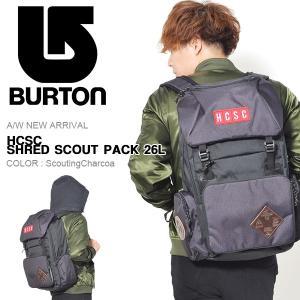 リュックサック バートン BURTON Hcsc Shred Scout Pack 26L バックパック リュック バッグ BAG 167001 2017秋冬新作|phants