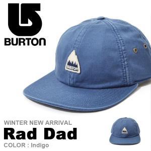キャップ バートン BURTON Rad Dad メンズ CAP 帽子 スケート スノーボード スノボ スノー アウトドア 2017冬新作 10%off|phants