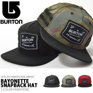 メッシュキャップ バートン BURTON Bayonette メンズ CAP 帽子 スケート スノーボード スノボ スノー アウトドア 2018-2019冬新作 20%off|phants