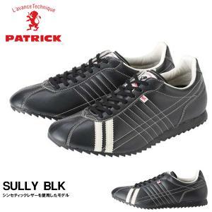 パトリック PATRICK スニーカー メンズ ブラック BLK SULLY シュリー メンズ レディース 送料無料