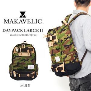 バックパック マキャベリック MAKAVELIC DAYPACK LARGE II デイパック ラージ リュックサック バッグ  カバン かばん 鞄 BAG 送料無料 35%off phants