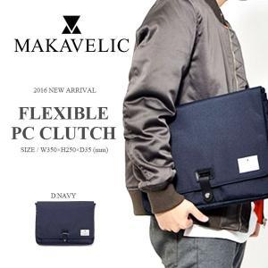 クラッチバッグ マキャベリック MAKAVELIC TRUCKS FLEXIBLE PC CLUTCH PC クラッチ ポーチ 小物入れ メンズ レディース カバン かばん 鞄 BAG 30%off phants