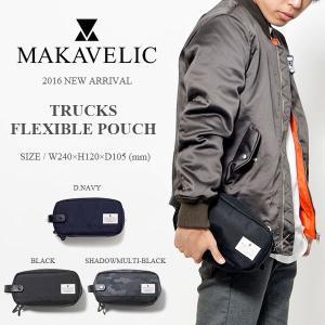 トラベルポーチ マキャベリック MAKAVELIC FLEXIBLE POUCH 小物入れ ペンケース カジュアル バッグ  カバン かばん 鞄 バッグ BAG 30%off phants