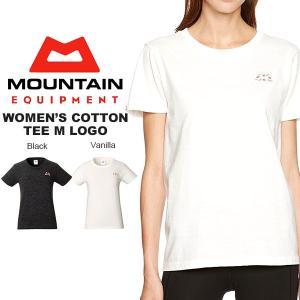 ゆうパケット対応可能!半袖 Tシャツ レディース マウンテンイクイップメント MOUNTAIN EQUIPMENT ロゴTシャツ  アウトドア 40%off|phants