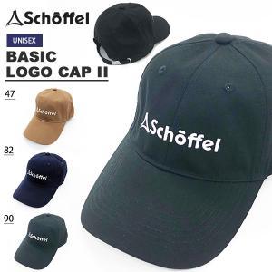キャップ ショッフェル schoffel メンズ レディース BASIC LOGO CAP II ロ...