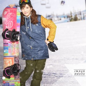 送料無料 スノーボードウェア レディース Coach Jacket コーチジャケット バックプリント スノーボード ウェア スノボ SNOWBOARD JACKET 17-18 2017-2018冬新作|phants|13