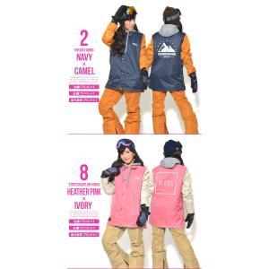 送料無料 スノーボードウェア レディース Coach Jacket コーチジャケット バックプリント スノーボード ウェア スノボ SNOWBOARD JACKET 17-18 2017-2018冬新作|phants|03