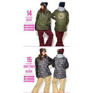 送料無料 スノーボードウェア レディース Coach Jacket コーチジャケット バックプリント スノーボード ウェア スノボ SNOWBOARD JACKET 17-18 2017-2018冬新作|phants|06
