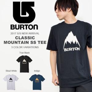 半袖Tシャツ BURTON バートン メンズ Classic Mountain High SS Tee アウトドア スノーボード スノボ スケートボード 2017春夏新作 30%off|phants