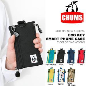 スマホケース CHUMS チャムス Eco Key Smart Phone Case iPhone7対応 iPhone スマートフォン ポーチ コインケース パスケース 20%off phants