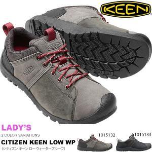 レザーブーツ KEEN キーン メンズ シティズン キーン ロー WP 防水 カジュアルシューズ 靴 送料無料|phants