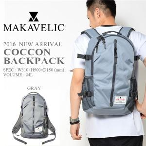 バックパック マキャベリック MAKAVELIC TRUCKS COCCON BACKPACK トラックス コクーン デイパック リュックサック カバン かばん 鞄 バッグ BAG 24L 30%off phants