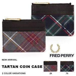 フレッドペリー FRED PERRY タータン コインケース COIN CASE タータンチェック チェック柄 小銭入れ ジップ付き 財布 得割20|phants