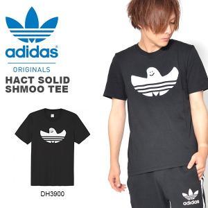 半袖Tシャツ adidas Originals アディダス オリジナルス メンズ HACT SHMOO WARP TEE マークゴンザレス コラボ ロゴ プリントTシャツ 2018秋冬新作
