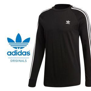 adidas Originals(アディダス オリジナルス) 3 STRIPES LS TEE にな...