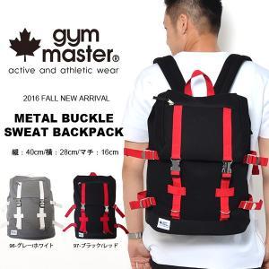 現品限り リュックサック ジムマスター gym master メタルバックル スウェット バックパック リュック バッグ メンズ レディース 送料無料 得割35|phants