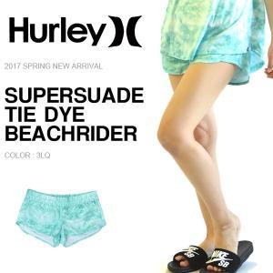 ラスト1着!ボードショーツ HURLEY ハーレー レディース SUPERSUADE TIE DYE BEACHRIDER サーフパンツ ショートパンツ 水着 2017春新作 30%off|phants