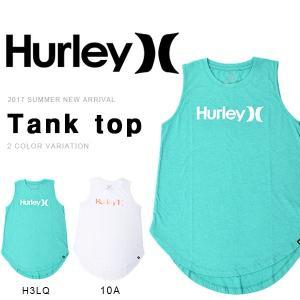 タンクトップ HURLEY ハーレー レディース ONE & ONLY BIKER TANK ノースリーブ ロゴ サーフ サーフィン 野外フェス 2017夏新作 30%off|phants