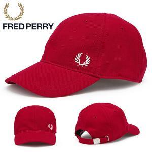 ロゴキャップ FRED PERRY フレッドペリー PIQUE CLASSIC CAP ピケ クラシ...