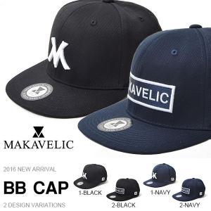 ベースボールキャップ マキャベリック MAKAVELIC HEADWEAR BB CAP Team MAKAVELIC ロゴ 帽子 30%off phants