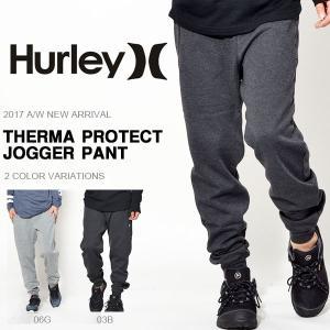 スウェットパンツ HURLEY ハーレー ジョガーパンツ メンズ THERMA PROTECT JOGGER PANT スエット パンツ 2017秋冬新作|phants