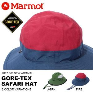 マーモット Marmot GORE-TEX Safari Hat  ゴアテックス サファリ ハット メンズ  帽子 アウトドア トレッキング 登山 キャンプ 夏フェス 2017春夏新作 送料無料|phants