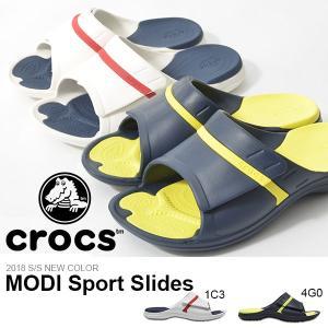 サンダル クロックス CROCS メンズ モディ スポーツ スライド シャワーサンダル スポーツサンダル シューズ 靴 204144 2018春夏新色|phants