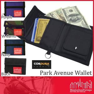 マンハッタンポーテージ ManhattanPortage パークウォレット 二つ折り財布 メンズ レディース 送料無料|phants
