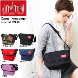 メッセンジャーバッグ マンハッタンポーテージ ManhattanPortage ショルダーバッグ Casual Messenger 送料無料|phants