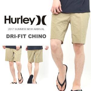 チノハーフパンツ HURLEY ハーレー メンズ DRI-FIT CHINO ショートパンツ ショーツ サーフ サーフィン アウトドア 野外フェス 2017春新作 30%off|phants