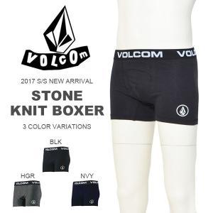 現品限り 30%off 日本限定 ボクサーパンツ VOLCOM ボルコム メンズ Stone Knit Boxer ロゴ インナーショーツ アンダーウェア 下着 D24117JA|phants