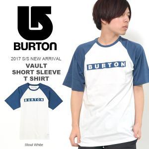 半袖Tシャツ BURTON バートン メンズ Vault SS Tee ロゴTシャツ プリントアウトドア スノーボード スノボ 2017春夏新作 30%off|phants