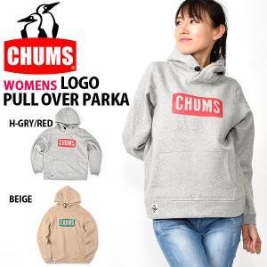 長袖パーカー CHUMS チャムス レディース Logo Pull Over Parka ロゴ プルオーバー 送料無料 2018秋冬新作 10%off phants